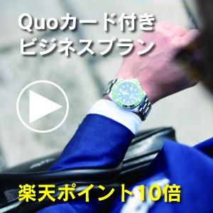 Quoカード付きビジネスプラン